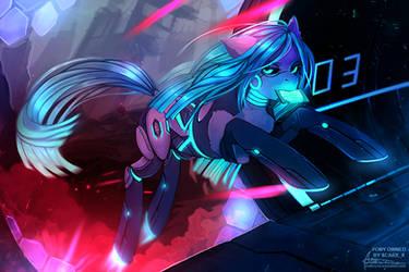 Mass effect pony commission