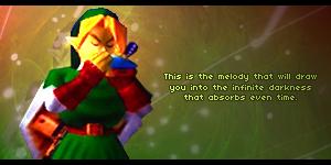 The Legend of Zelda - Link Sig by DrM94
