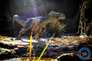 Allosaurus, the hunter by X-Alex