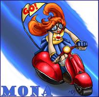 Go Go Mona by morganchan