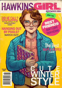 Hawkins Girl Magazine: Barb Special