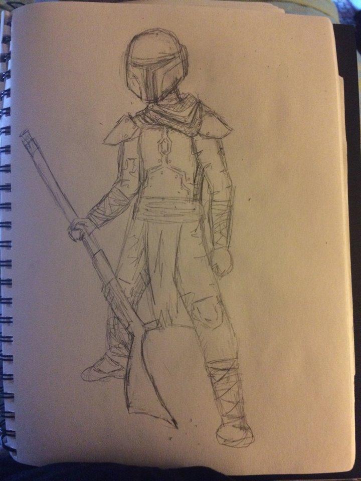 Fettski's Desert Armor by up-up-and-AWAY