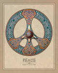 Knotwork Peace Sign