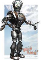 'Big Lug' Robot, textured by BWS