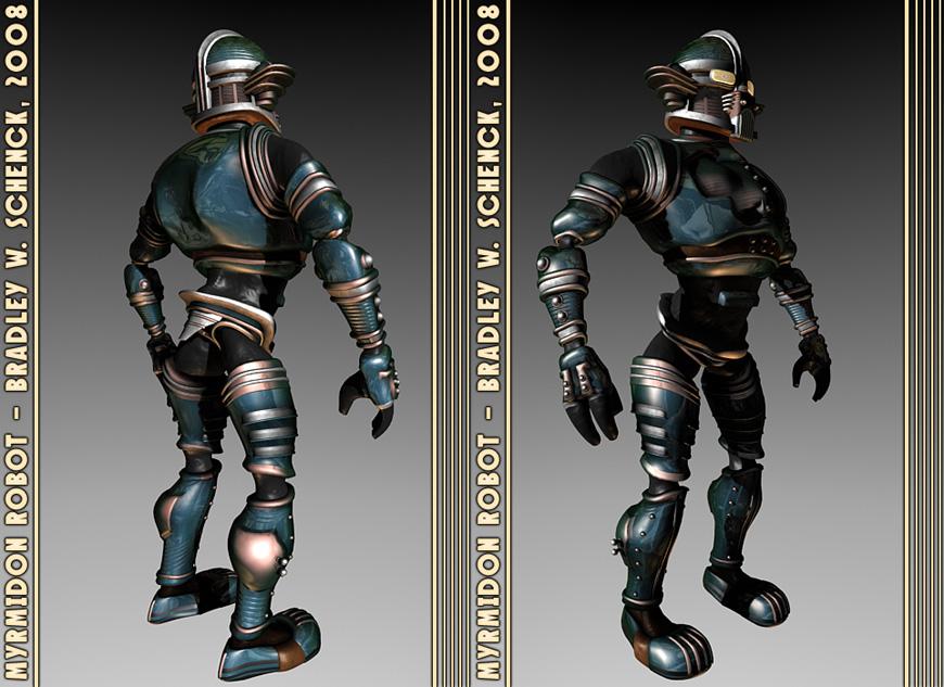Myrmidon Robot by BWS