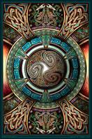 Triskelion Mandala I by BWS