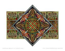 Celtic Eagles Design