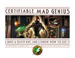 Certifiable MAD GENIUS