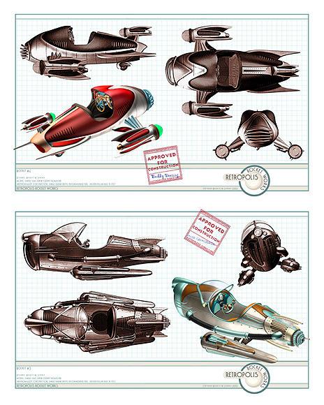 Retropolis Rocket Works 2 by BWS