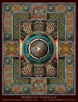 Triskelion Mandala II by BWS