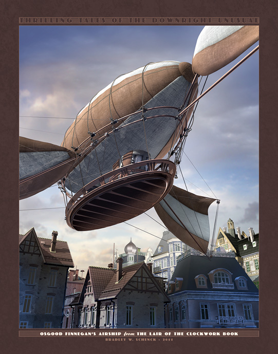 Osgood Finnegan's Airship by BWS
