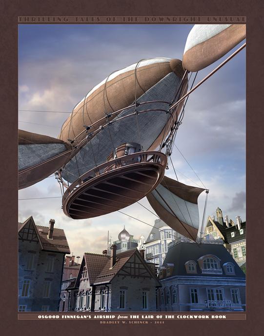 Osgood Finnegan's Airship