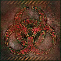 Knotwork Biohazard Symbol by BWS