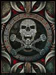 Skull and Crossbones Mandala