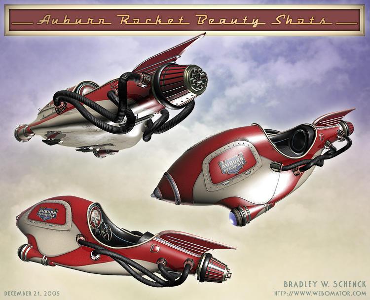 Auburn Rocket Beauty Shots by BWS