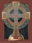 Illuminated Celtic Cross
