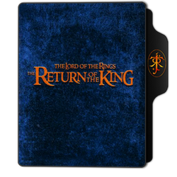 The Return of the King Folder Icon by dahlia069