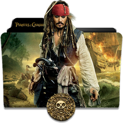 Pirates of the Caribbean Collection Folder Icon