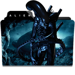Alien Collection Folder Icon