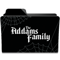 The Addams Family Collection Folder Icon