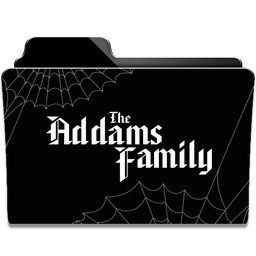 The Addams Family Collection Folder Icon By Dahlia069 On Deviantart