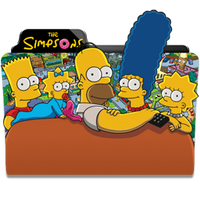 The Simpsons Folder Icon by dahlia069