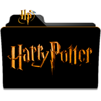 Harry Potter Collection Folder Icon by dahlia069