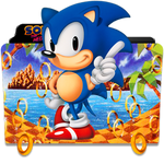 Sonic the Hedgehog Folder Icon