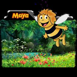Maya The Bee Folder Icon By Dahlia069 On Deviantart