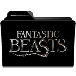 Fantastic Beast Collection Folder Icon