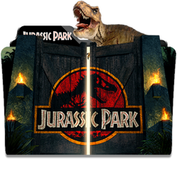 Jurassic Park Collection Folder Icon