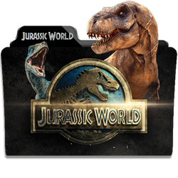 Jurassic World Collection Folder Icon