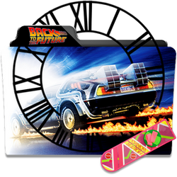Back to the Future Collection Folder Icon