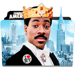Coming to America Folder Icon by dahlia069
