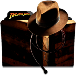 Indiana Jones Collection Folder Icon