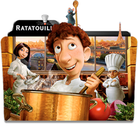 Ratatouille Folder Icon by dahlia069