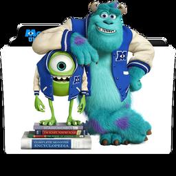 Monsters University Folder Icon By Dahlia069 On Deviantart