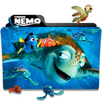 Finding Nemo Folder Icon by dahlia069