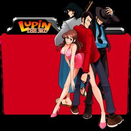 Lupin III Folder Icon