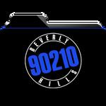 Beverly Hills 90210 Folder Icon