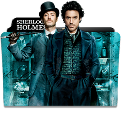 Sherlock Holmes Collection Folder Icon