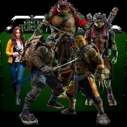 Teenage Mutant Ninja Turtles Collection Folder Ico