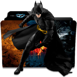 The Dark Knight Collection Folder Icon