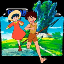 Conan the Boy in Future Folder Icon by dahlia069
