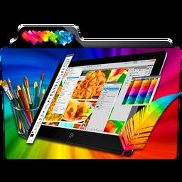 Graphic Design Folder Icon by dahlia069