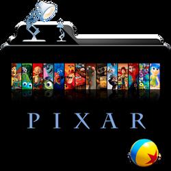 Pixar Collection Folder Icon