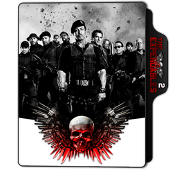 The Expendables 2 Folder Icon by dahlia069