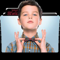 Young Sheldon Folder Icon by dahlia069