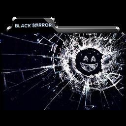 Black Mirror Folder Icon by dahlia069