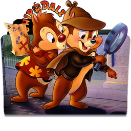 Chip and Dale Folder Icon by dahlia069